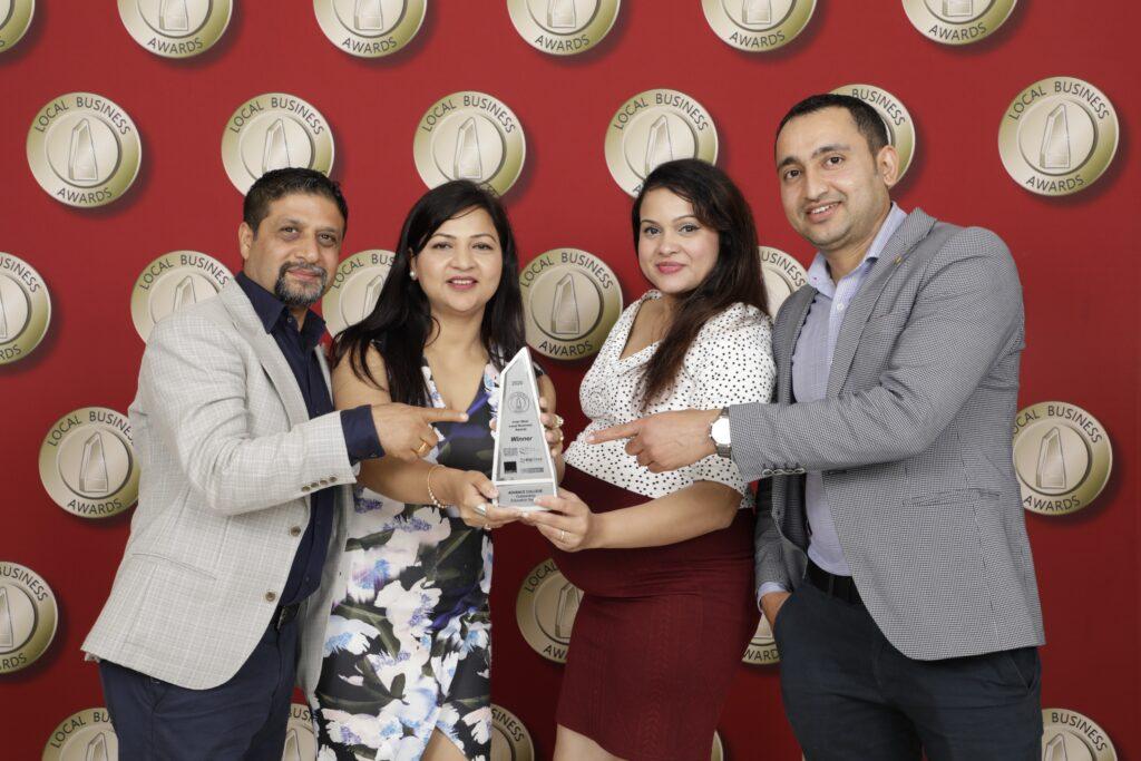 Advance college wins Local Business Award